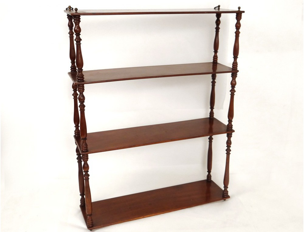 napoleon iii mahogany wall shelf nineteenth century. Black Bedroom Furniture Sets. Home Design Ideas