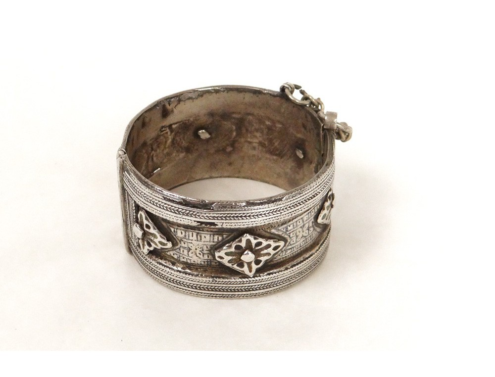 bracelet charni re argent massif maroc ygherm juif. Black Bedroom Furniture Sets. Home Design Ideas