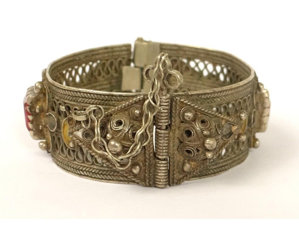 Bracelet Charni 232 Re Argent Filigran 233 233 Maux Maroc Ygherm