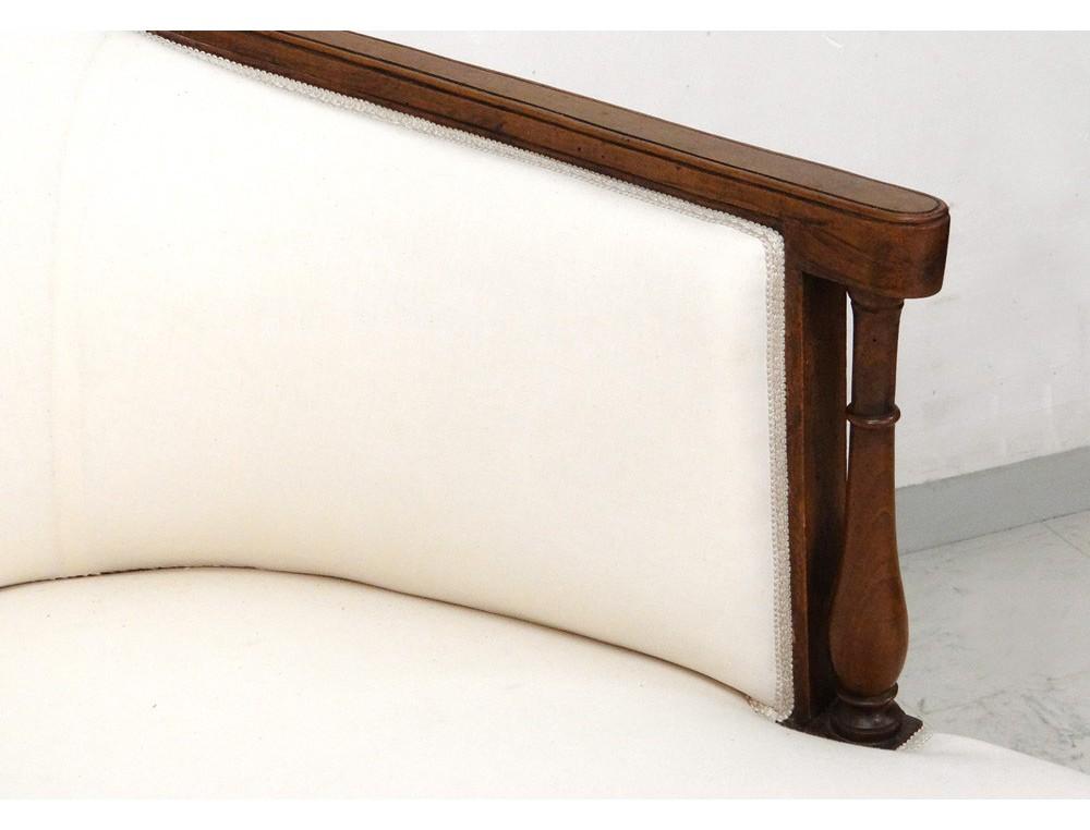 superbe duchesse en bateau chaise longue merisier directoire xviii 232 si 232 cle antiques de laval