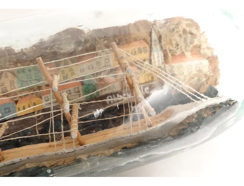 Maquette bateau bouteille 3 m ts diorama abbeville maison for Maquette de maison