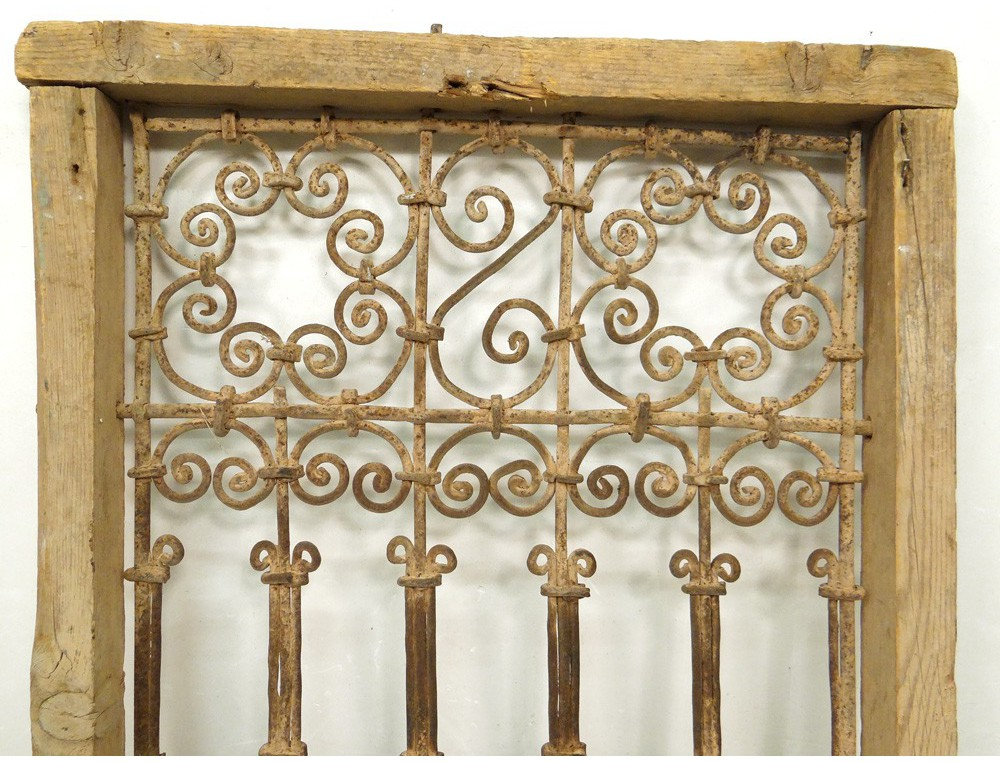 Moroccan Iron Window Grill Wrought Morocco Maghreb Atlas