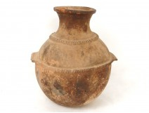 Terracotta vase food container Tata Foum Zguid Morocco Maghreb nineteenth
