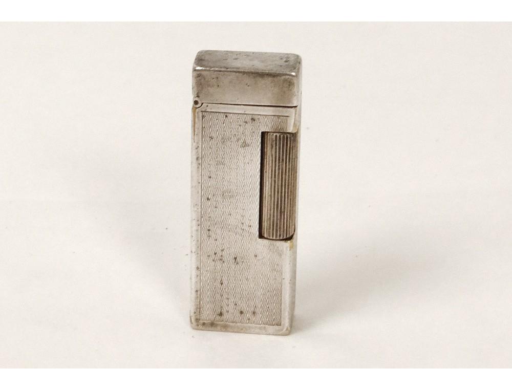 Lighter Old Silver Metal Lighter Vintage Dunhill London
