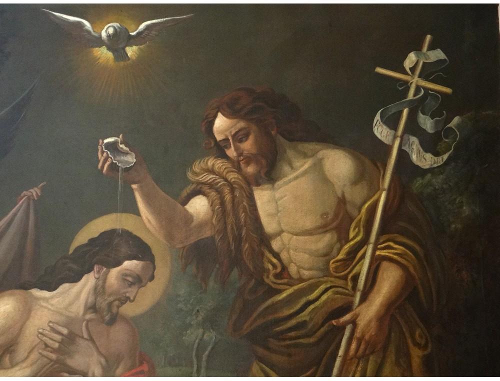 Great Hst Table Baptism Jesus Christ John The Baptist