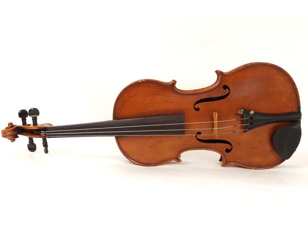 Rare Entire Violin Luthier E Perrin Son Paris French