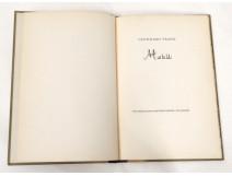 Livre allemand Leonhard Frank Mathilde Pazifischen Presse Van Leyden 1943