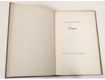 Livre allemand Thomas Mann Thamar Pazifischen Presse Van Leyden 1942 n°85
