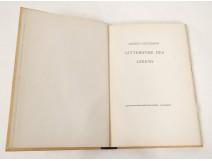 Livre allemand Alfred Neumann Gitterwerk Des Lebens Pazifischen Presse 1943