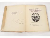 Livre Baudelaire Petits poèmes en prose Constant le Breton 1922 Jonquières