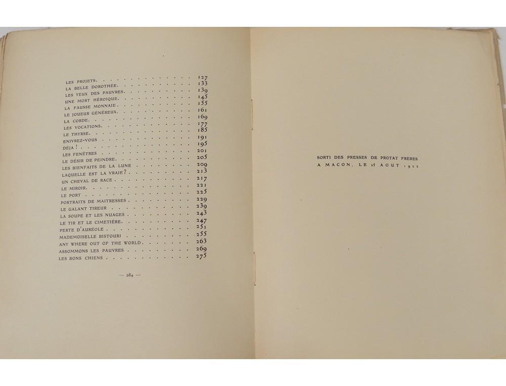 Livre Baudelaire Petits Po 232 Mes En Prose Constant Le Breton