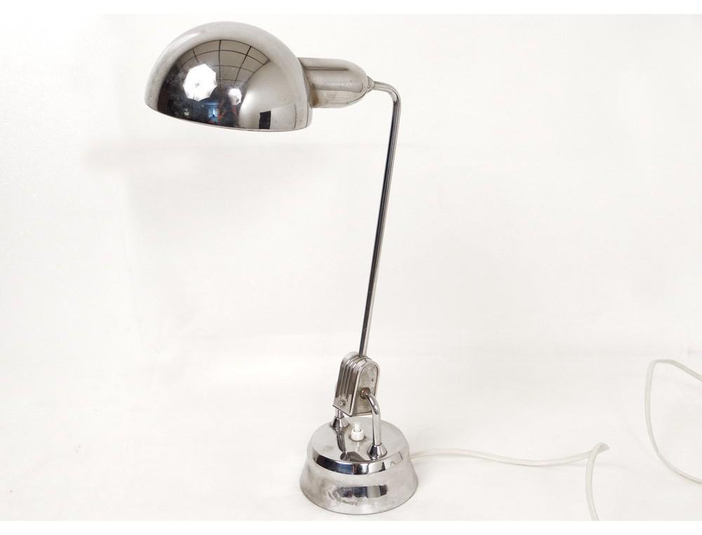 lampe de bureau design jumo 600 chrome french lamp xx me si cle. Black Bedroom Furniture Sets. Home Design Ideas