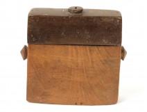 Rare tobacco box tongal wood island Sumba Indonesia Nusa Tenggara Van Leyden