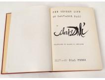 Book autobiography The Secret Life of Salvador Dalí in 1942 signed Van Leyden
