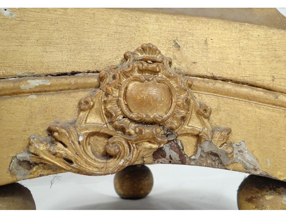 grand pique cierge bougeoir bois sculpt dor coquille fleur acanthe xviii. Black Bedroom Furniture Sets. Home Design Ideas