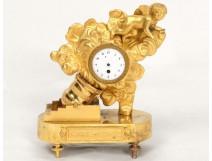 Ormolu clock Train Bomb Charles Le Roy Executive XVIII