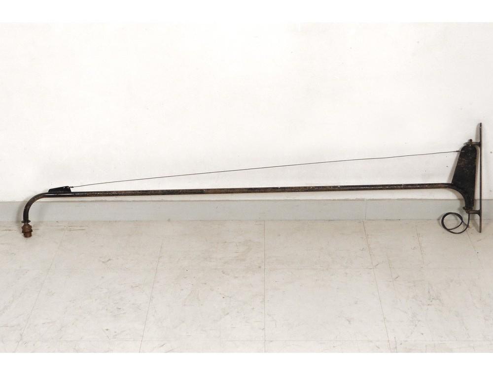 Black Lacquer Wall Sconces : Wall sconces Jean Prouve twentieth century black lacquered metal
