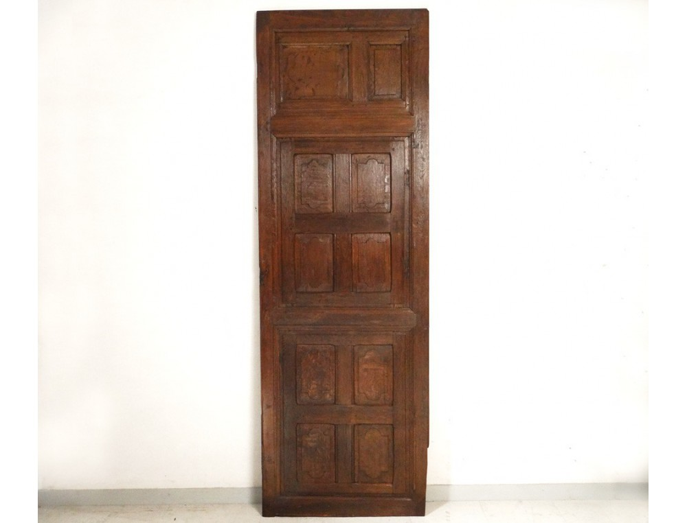 - Decorative Trim Element Door Panels Antique French Oak XVII