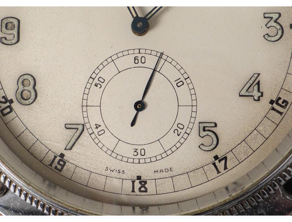 Watch Clock Auto Zenith 8 Days Rolls Royce Switzerland