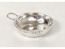 Wineskin silver Brunet Farmers General XVIII century silver 69gr