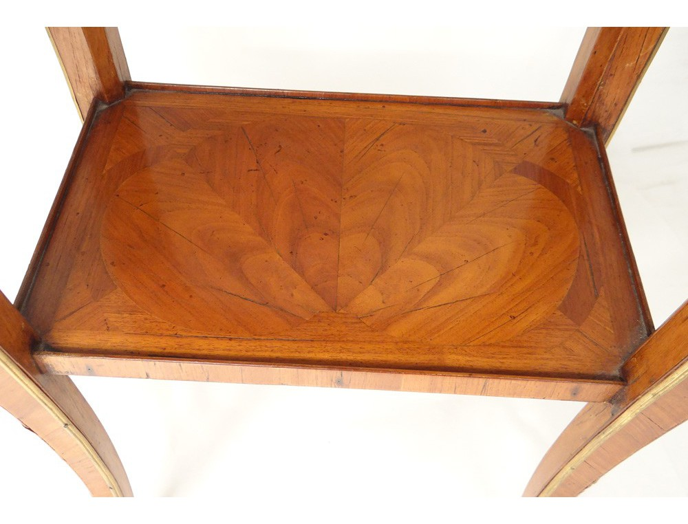 Home > FURNITURE > Tables / Consoles > A worker Louis XV marquetry ...