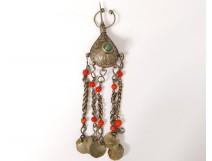 Bermil pear pendant brooch silver Zaiane Morocco Maghreb XX