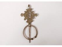 Small silver fibula Draa Valley Morocco Morocco Maghreb twentieth century