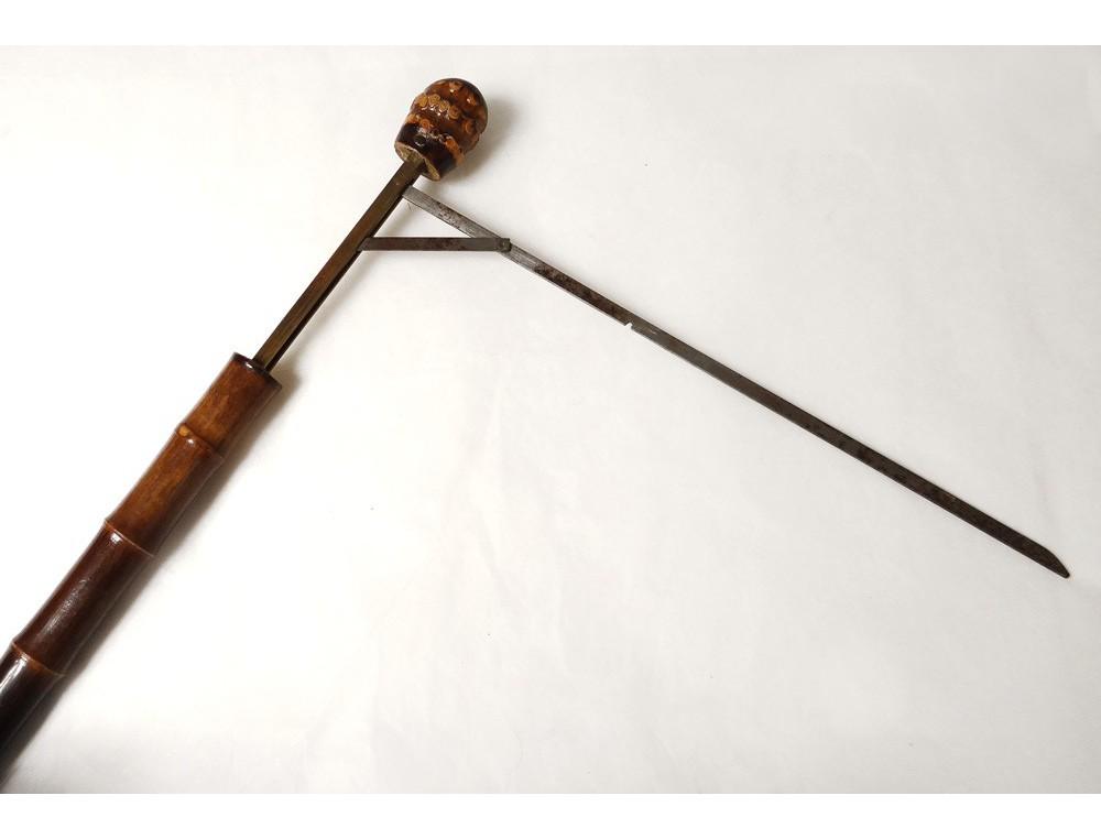 Rod System Antique Wooden Horse Jockey Measurement