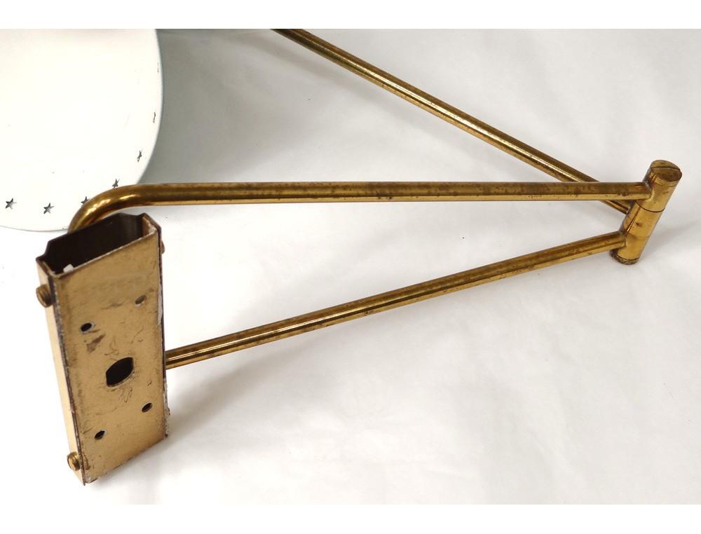 Petite Lampe Potence Diabolo Rene Mathieu Lunel Tole Etoiles Design