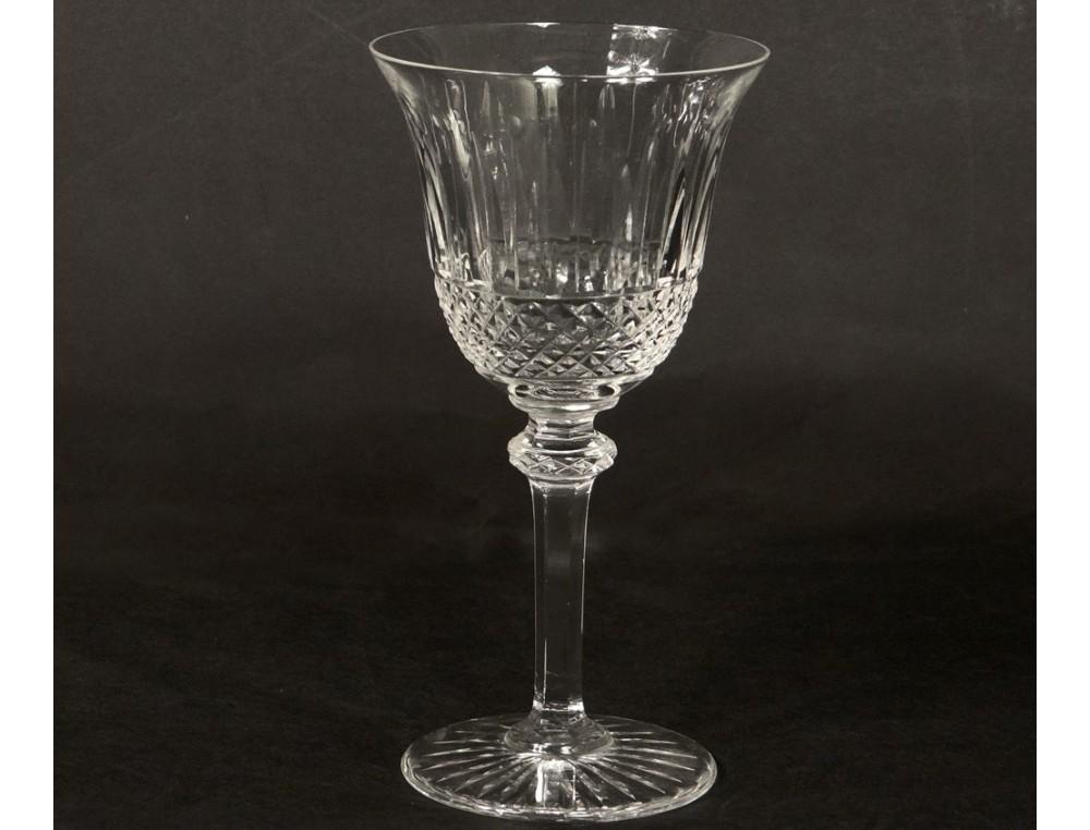 Crystal Stemware White Wine Cut Louis Tommy Xxth Model
