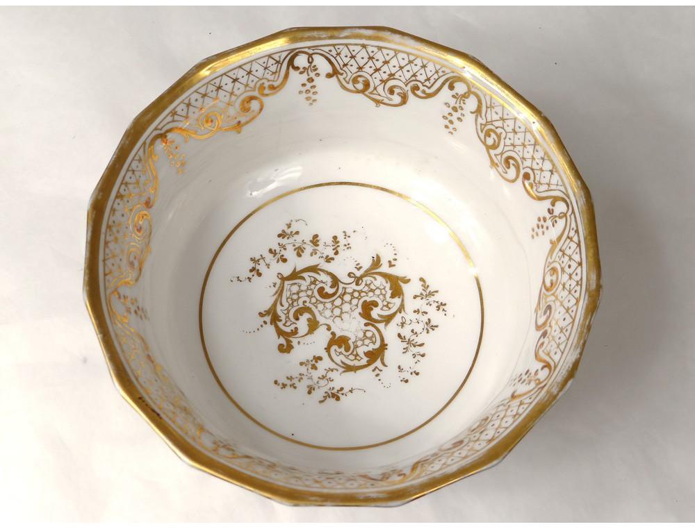 service caf th porcelaine valentine saint gaudens fleurs. Black Bedroom Furniture Sets. Home Design Ideas