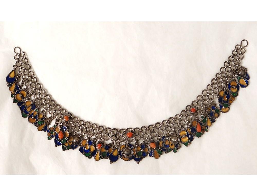 Bijoux Algerie Argent : Parure bijoux argent kabyle