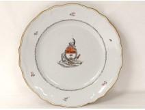 Plate Company India blazon three star knight helmet XVIII