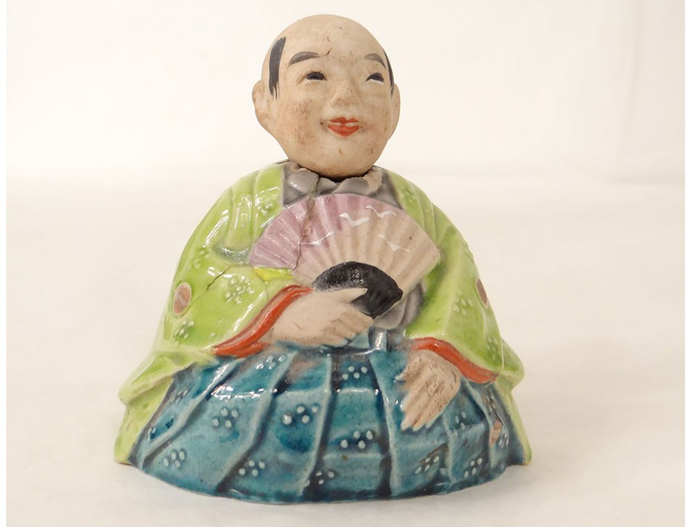 Figurine Magot Chinois Homme Chauve Biscuit 233 Maill 233 D 233 But
