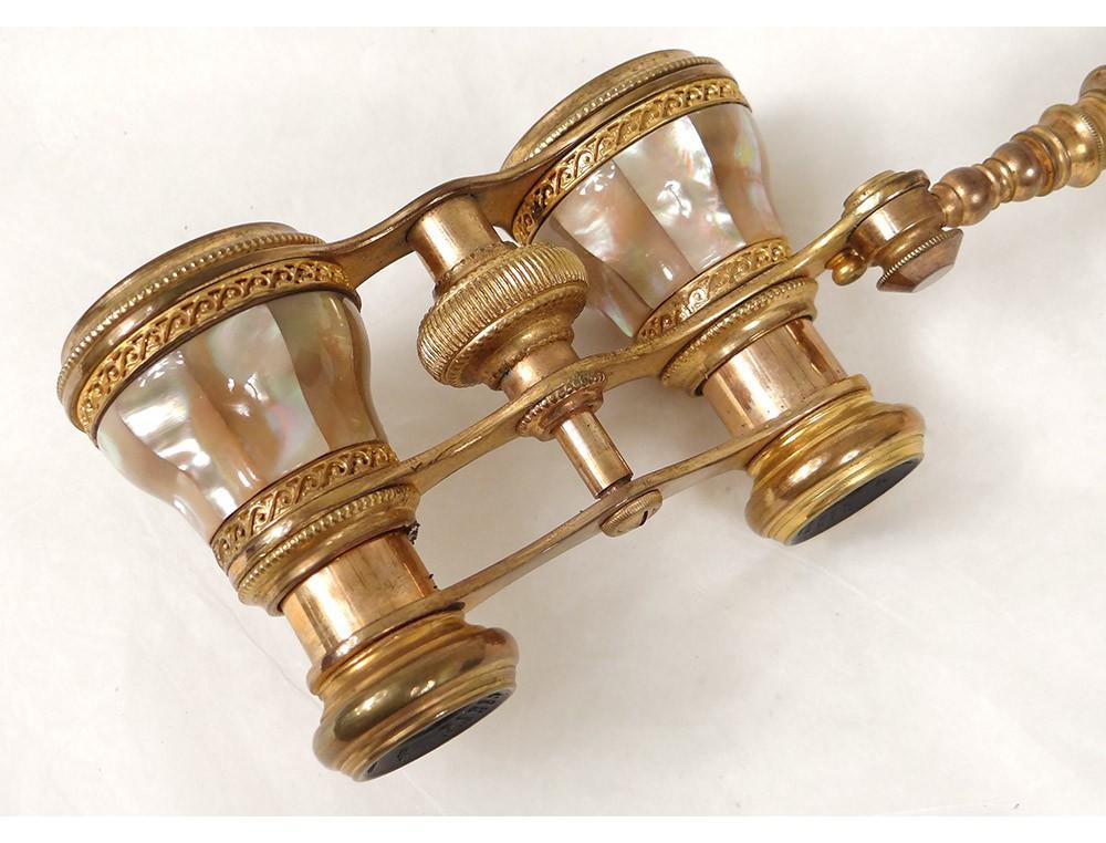 Jumelles De Th 233 226 Tre Nacre Laiton Dor 233 Opticien Chevalier