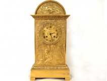 Gilt bronze clock terminal watchmaker Legras time clock early nineteenth century