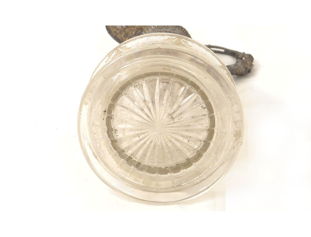 Pichet M 233 Tal Argent 233 Cristal Verre Grav 233 Femme 224 L Antique