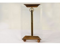 Photo frame glass holder golden brass nineteenth century Napoleon III