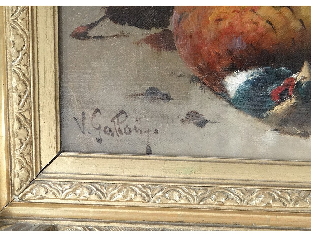 Hst Dead Pair Back Kind Paintings Rabbit Hunting Pheasant
