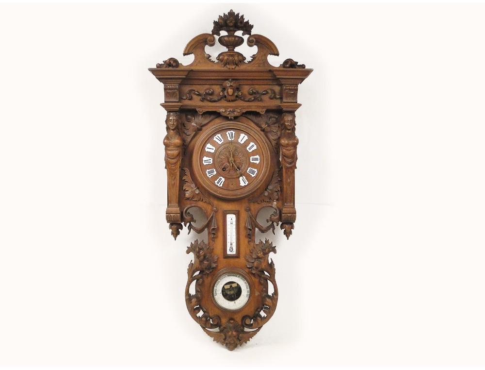 pendule horloge int rieur maison sur enperdresonlapin. Black Bedroom Furniture Sets. Home Design Ideas