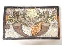 Table votive shell work cornucopias convict Cayenne nineteenth