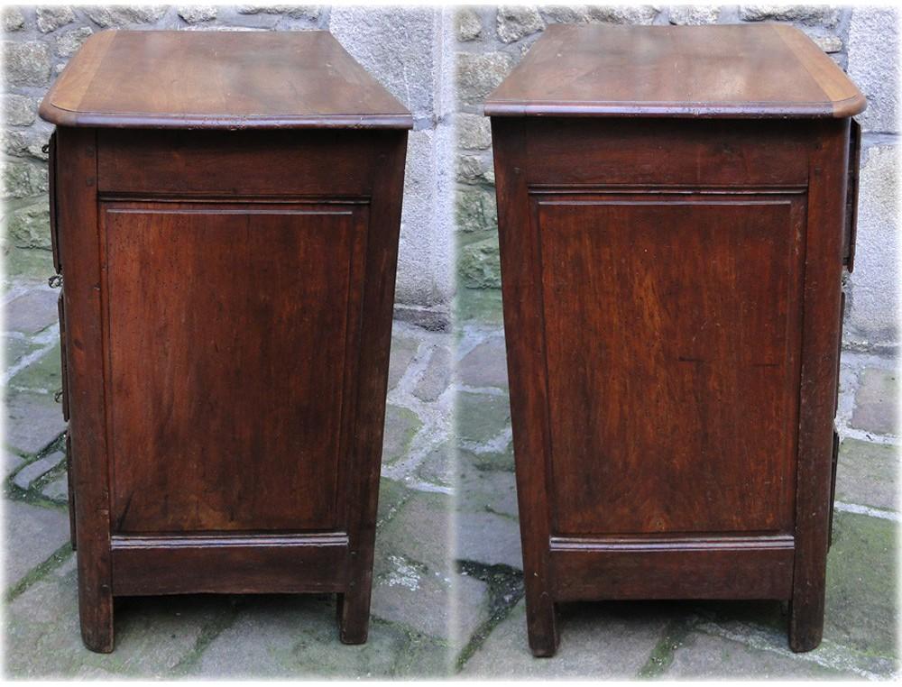 Small Rustic Cherry Wood Dresser 18th