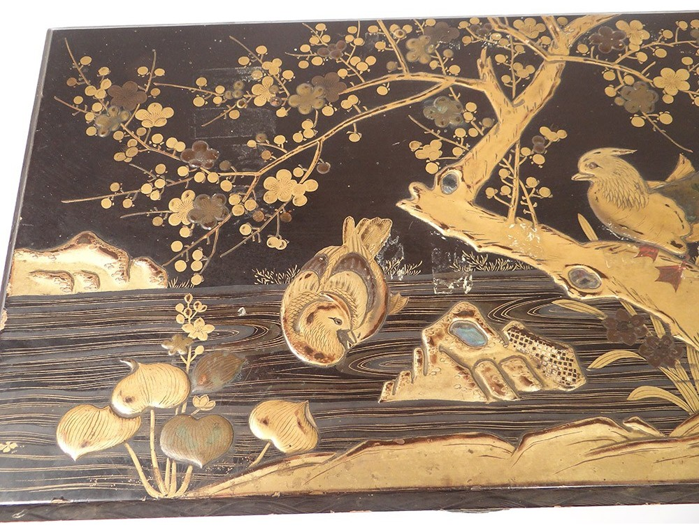 essay about on gold pond Period: kamakura period (1185–1333) date: 14th century culture: japan  medium: hanging scroll ink, color, and gold on silk dimensions: image: 36 1/8 x.