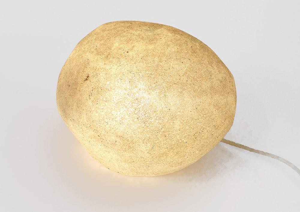 Cazenave Rocher Xxème Caillou Sur Détails Lampe Dora Galet Vintage André Modèle Doria bf6v7gYy