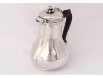Coffee jug selfish solid silver silver Farmers General XVIII