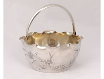 Small ice bucket solid silver Russian Yakov Lyapimov St Petersburg XX
