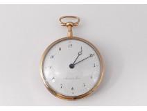 18K Savarin Père Watch 18K Gold Solid Watch 19th Century Watch
