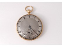 18K Leroy & Fils Paris 18th Century Gold Ring Watch
