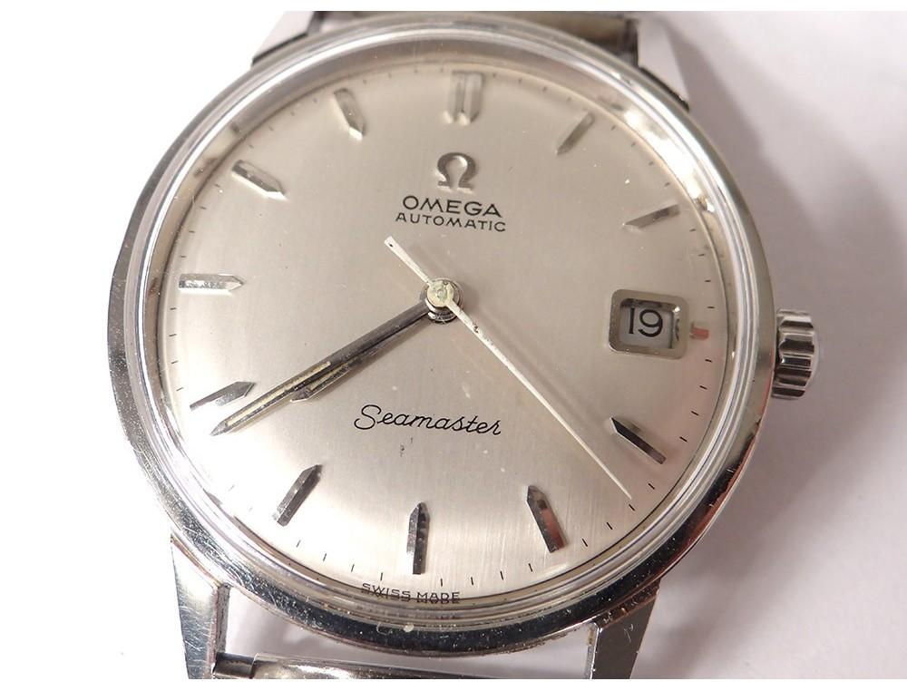 Wrist Watch Omega Seamaster Automatic Cal 565 Vintage
