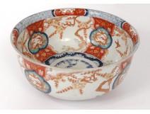 Imari porcelain china Japan birds cherry flowers gilded 19th century